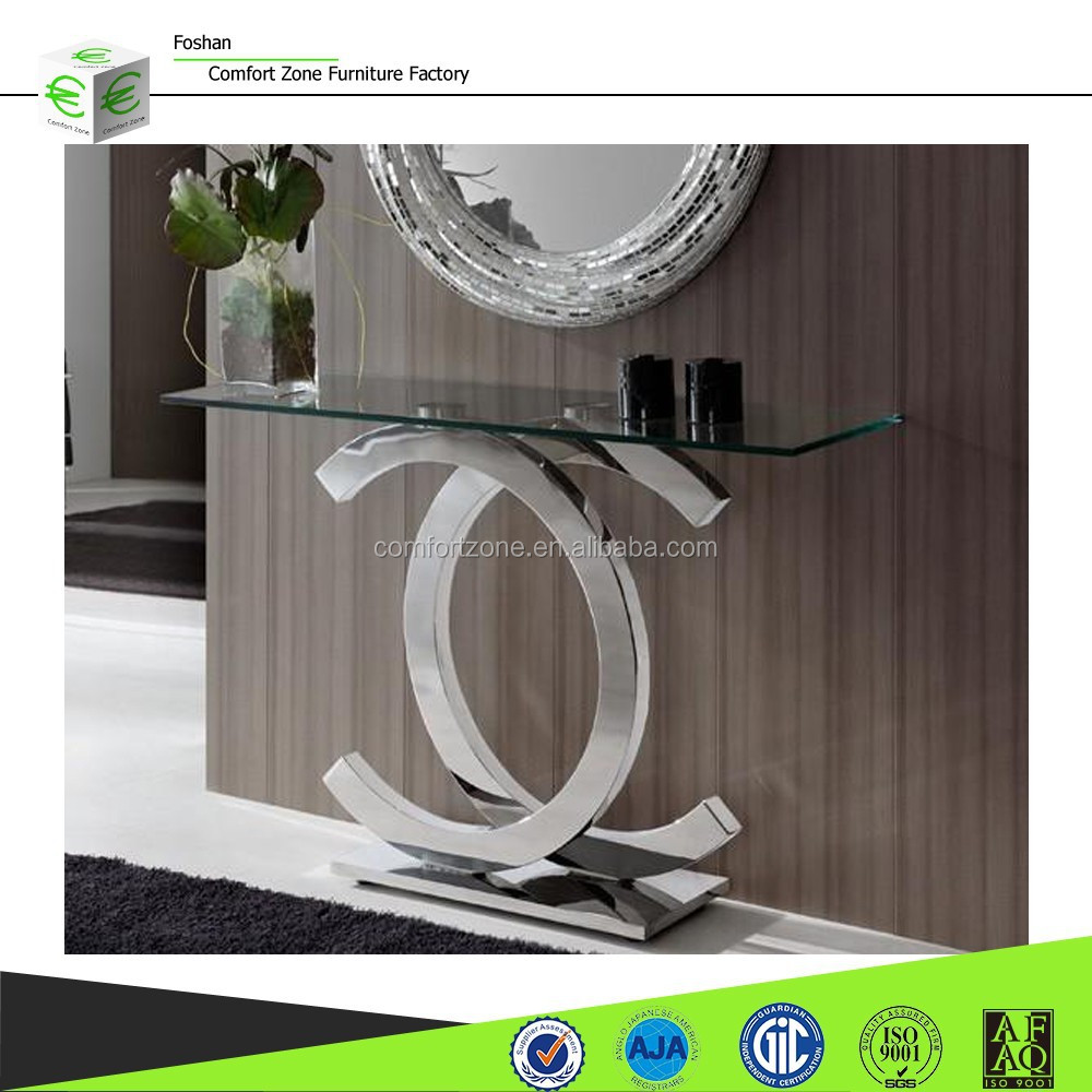 Dn03 French Half Moon Console Table And Wall Mirror Product On Alibaba