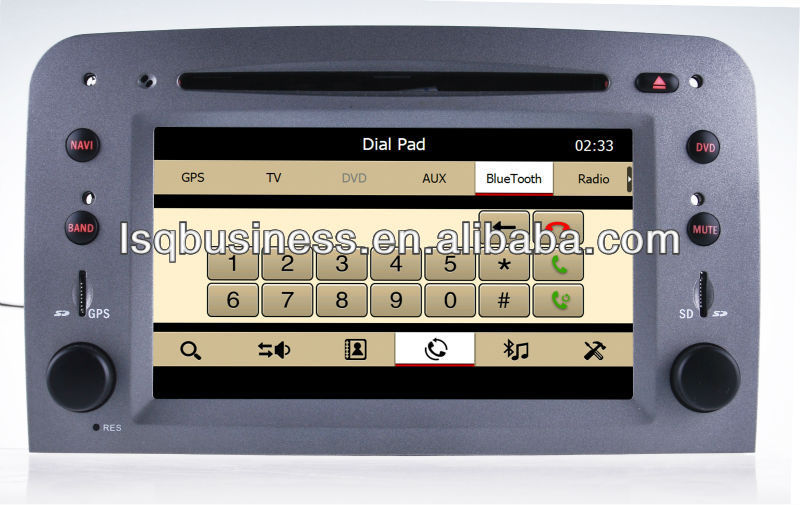 LSQ Star Car Central Multimedia For Alfa Romeo 147 With Gps Bluetooth Radio Tv Rds Canbus New Hot