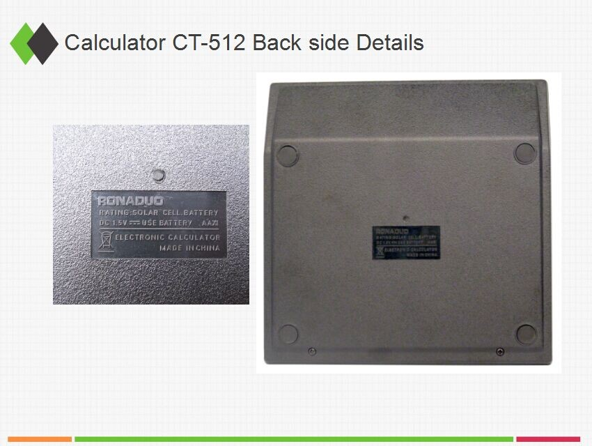 CT-512 calculator with backlight, OEM Logo calculator, low price calculator customization calculator