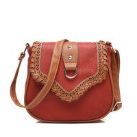 Free shipping PU women handbag