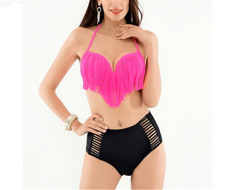 b279ba7e85d55 Get Quotations · Shining4U high waist swimsuit swimwear women bathing suits  swimming suit women Swimwear Ladies NEW womens swim