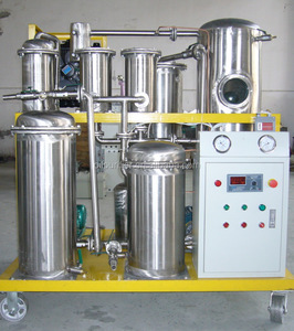 Food grade oil purifier machine,oil water and particles separator