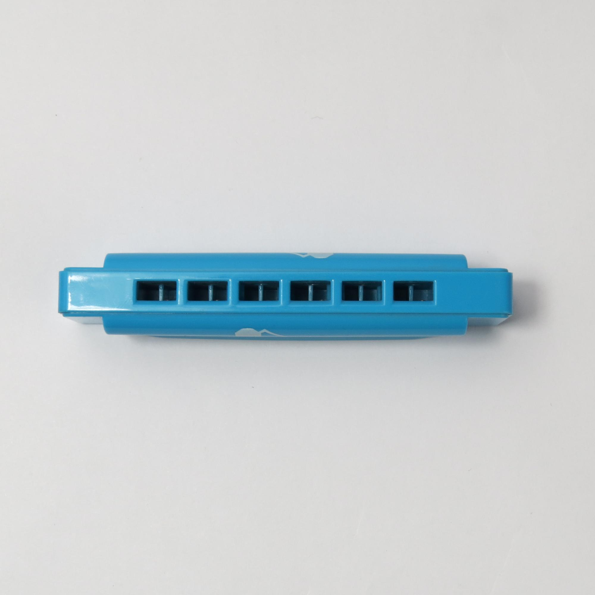 BEE brand 6 hole  plastic harmonica for gift toy harmonica
