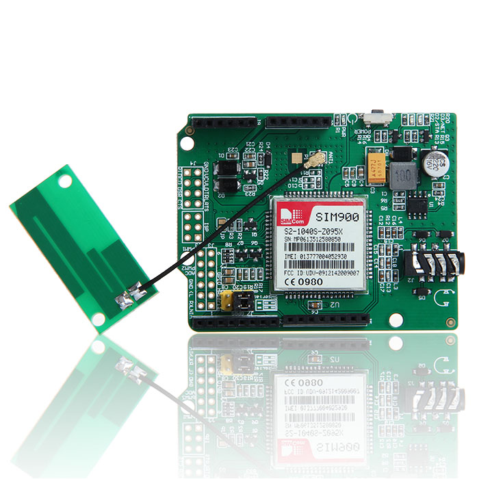 GPRS/GSM SIM900 Shield board arduino compatible