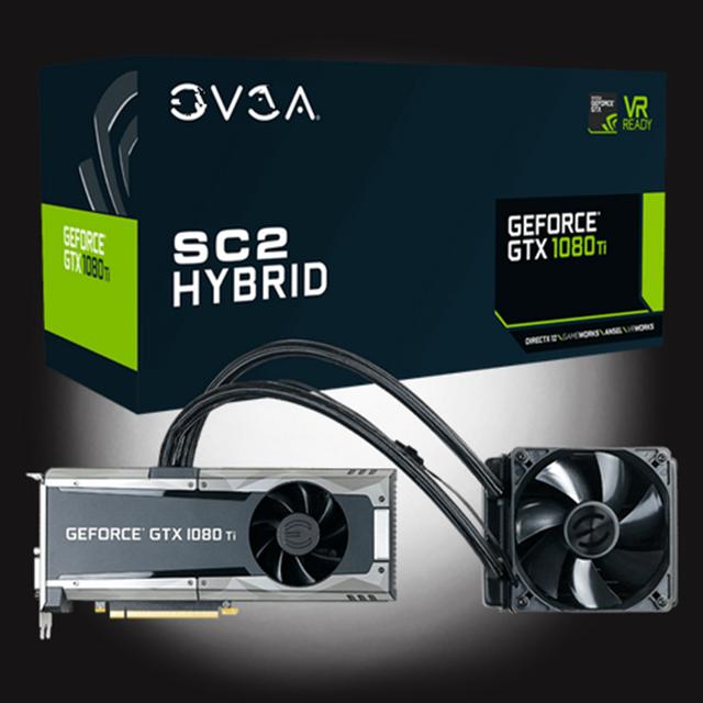 For Evga Geforce Nvidigtx 1080 Ti Sc2 Hybrid Gaming 11g-p4-6598-kr 11gb  Gddr5x Hybrid & Led Icx Technology - 9 Thermal Sensors - Buy For Evga  Geforce