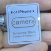 Camera Lens Tempered Glass Sreen Protector For iPhone x