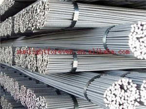 HRB400 HRB500 6mm 12mm ms iron rod per Ton price / deformed steel bar