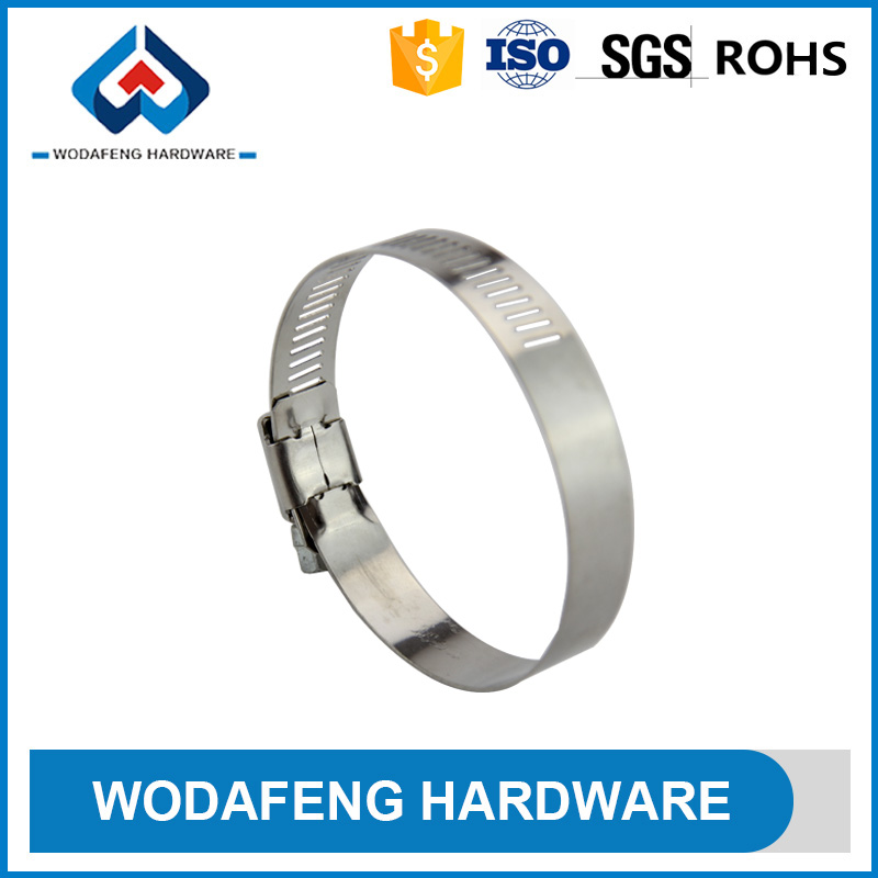 Adaptability no limit hose ring clamp