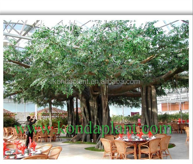 cheap customized outdoor indoor decorative artificial big metal ficus treesbonsai ficus big tree - Ficus Trees