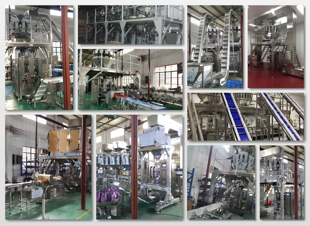 Pillow Bag Automatic Nitrogen Potato Chip Packaging Machine Price