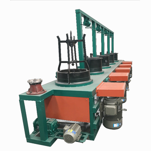 Direct manufacturer wire drawing machine used to make the wire thinner