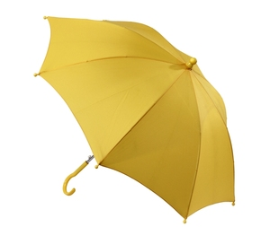 Chinese supplier customized logo kid 17 inch yellow children automatic umbrella