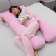 Pregnancy Pillow Maternity Adjustable Nursing Wholesale Cheap Silk U Shape Full Body Pregnancy Pillow For Pregnant Woman