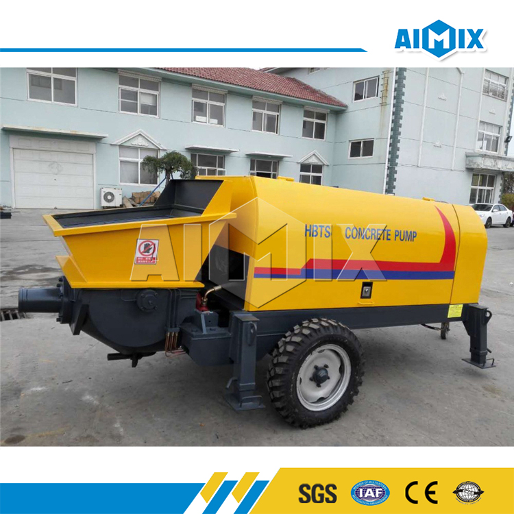 30m3/h electric small concrete pump for sale