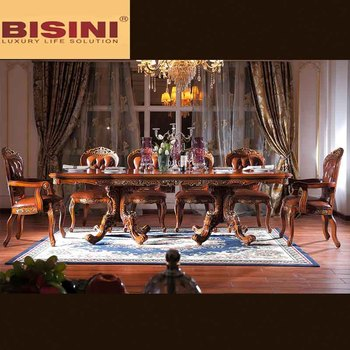 Exceptional Bisini Wooden Top Long Dining Table 10 Seats, 10 Seater Dining Table