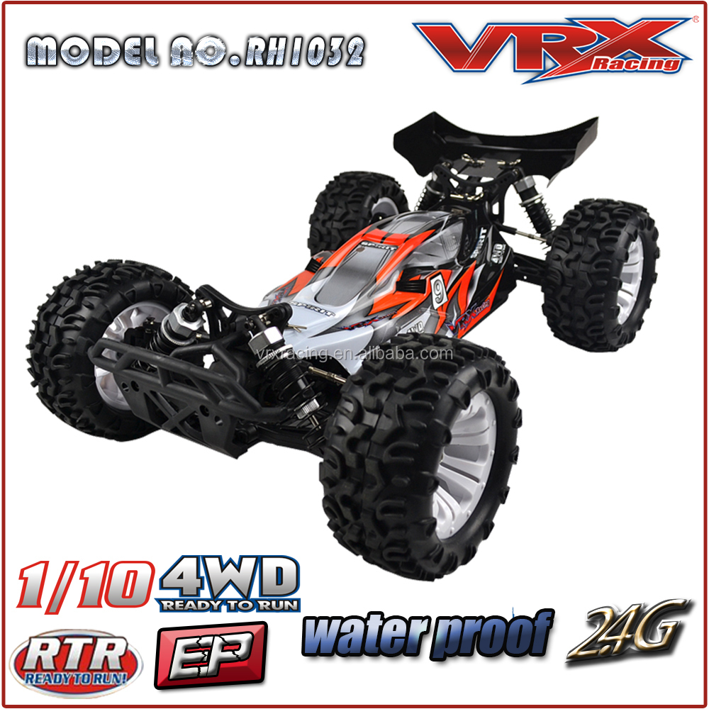 VRX 2015 New 1/10th 4WD Brushless RC Toy Car, Electric Mega Buggy