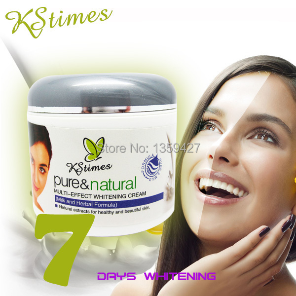 7 days fast effect face whitening cream for face bleaching