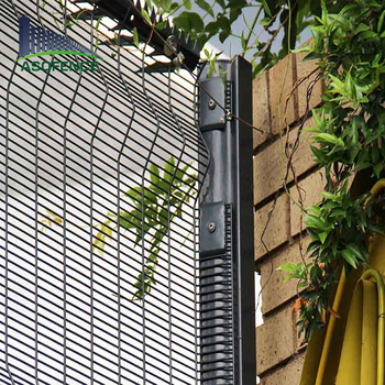 High Security Galvanized Wire Mesh No Climb Fence Panels - Buy Wire ...
