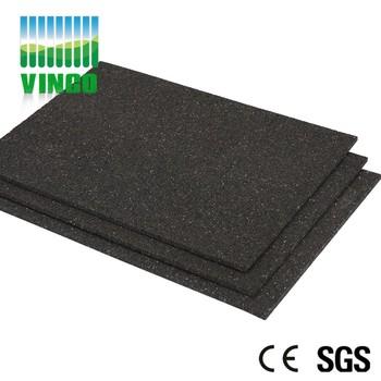 Rubber Vibration Damping Flooring Mat For Ground