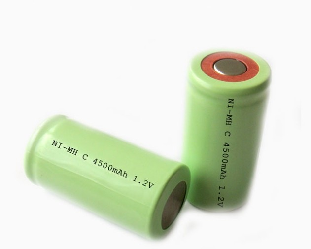 best nimh 1.2v 4000mah cell c size rechargeable batteries