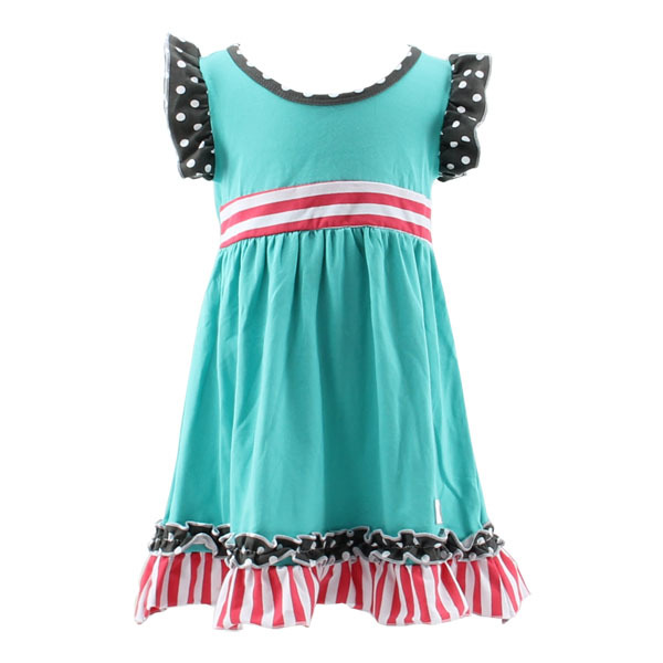 Wholesale Bulk 2016 Summer Baby Girl Cotton Dresses Sleeveless ...