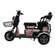 2018 newest 3 wheel scooter/mini motorcycles for adults/cargo bike electric