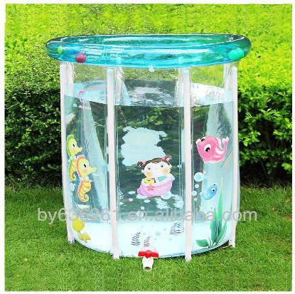 gonflable b b en plastique dur transparent piscine. Black Bedroom Furniture Sets. Home Design Ideas