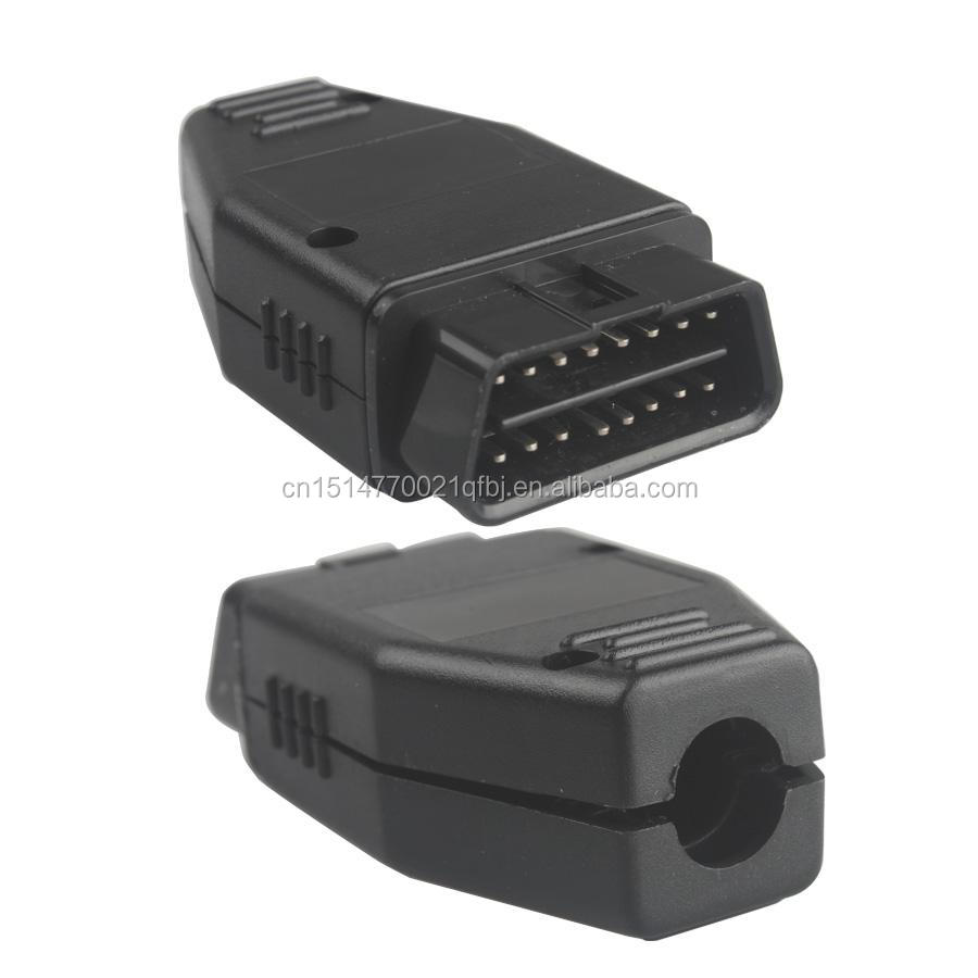 OBD Male Plug OBD2 16Pin Connector OBD II Adaptor J1962 OBD2 Connector with PCB, SR