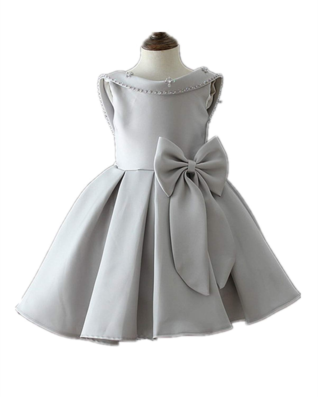 get quotations hx little girls princess backless sleeveless wedding christmas birtyday party dresses