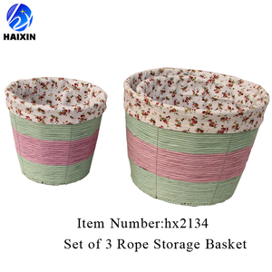 Paper Rope Basket, Paper Rope Basket Suppliers And Manufacturers At  Alibaba.com