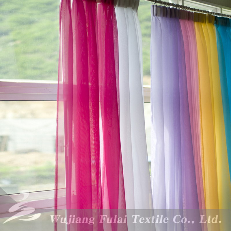 Glitter tulle fancy fabric for curtain