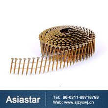 hot sale smooth shank plate wire coil nails