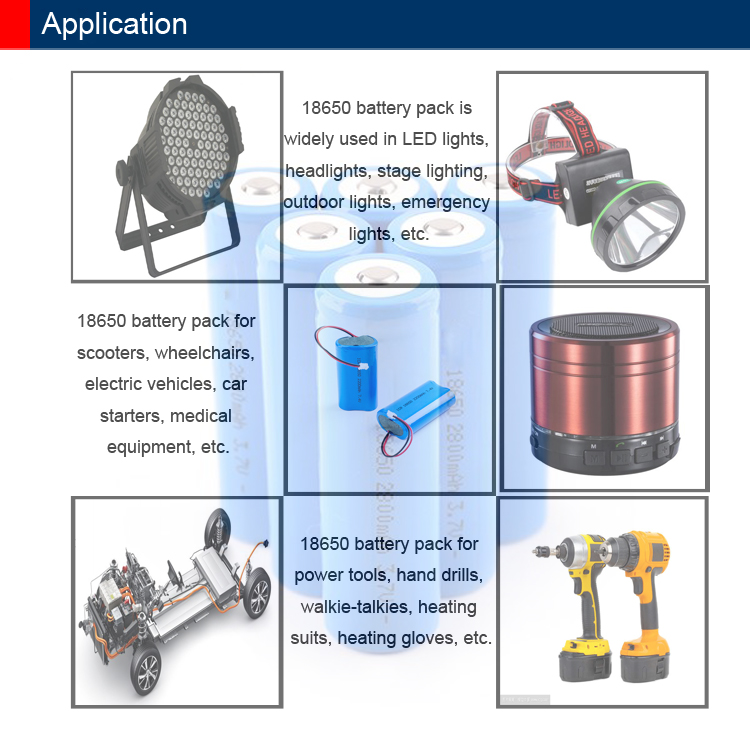 DTP Fast delivery li-ion 18650 battery pack 14.8v 2200mah for robot vacuum cleaner