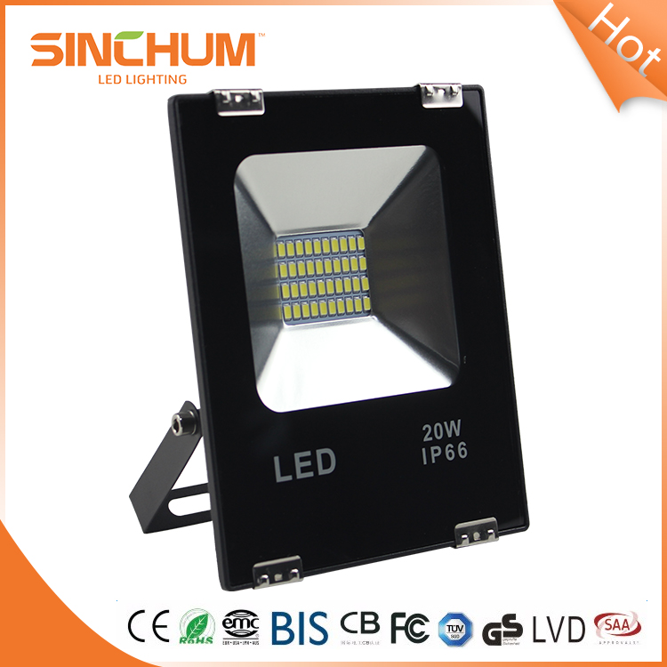 High Quality Die-Casting Aluminium Housing IP66 Led Floodlight 20W