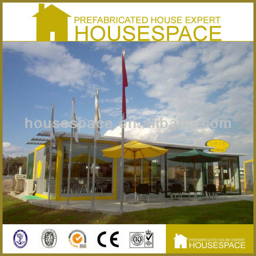 Contemporary style modular homes/prefabricated house/port cabin
