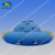 HNJOYTOYS Water Toy Inflatable Disco Boat, Inflatable Disco Boat Crazy UFO