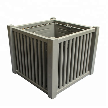 Galvanized Metal Outdoor Furniture Garden Street Planter Boxes Buy