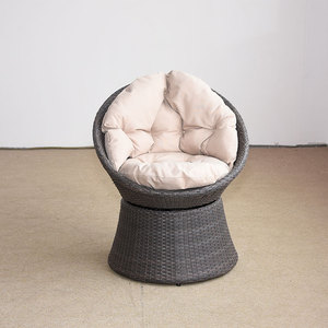 Peachy Round Rattan Swivel Chair Round Rattan Swivel Chair Gmtry Best Dining Table And Chair Ideas Images Gmtryco