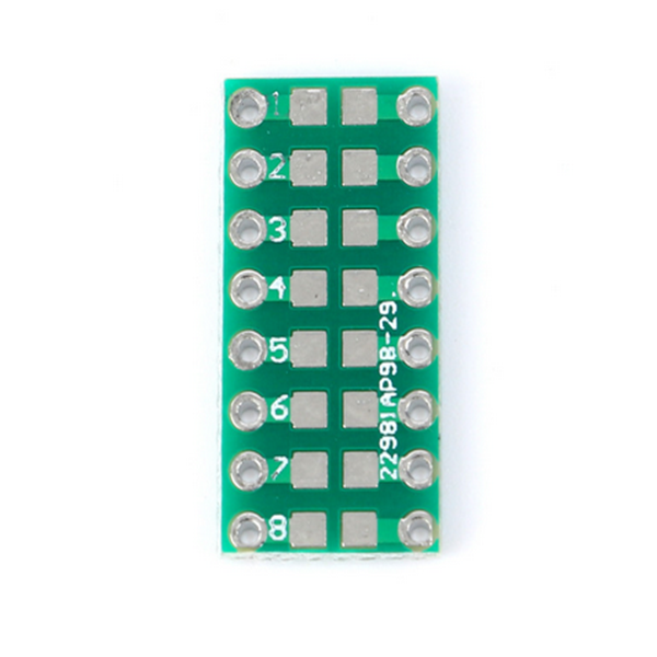 10pcs Smt Dip Adapter Converter 0805 0603 0402 Capacitor Resistor Led Pinboard Fr4 Pcb Board 2.54mm Pitch Smd Smt Turn To Dip Skillful Manufacture Active Components