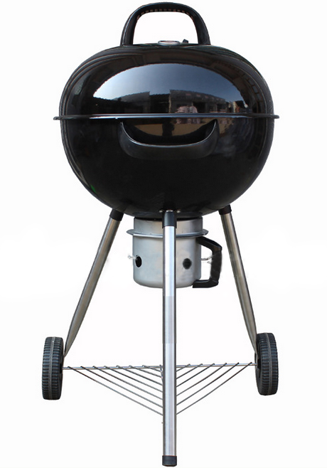 BBQ Grill, Outdoor Emaille Ronde Grill, Houtskool Grill
