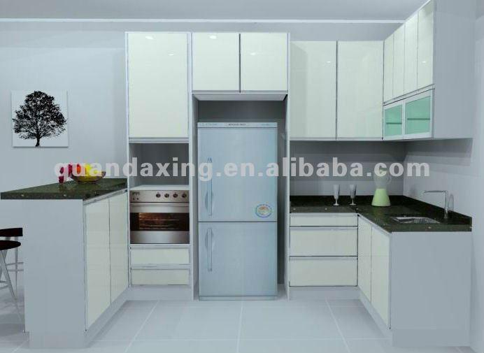 Melamina mueble cocina, diseño simple gabinetes de cocina barato ...