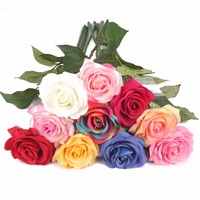 RH24480 for table wedding centerpieces decoration rose artificial flower wholesale