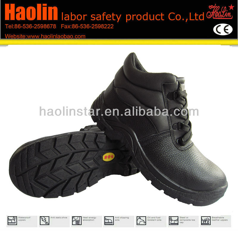 HL-S026 Ankle protection S1 black safety boots
