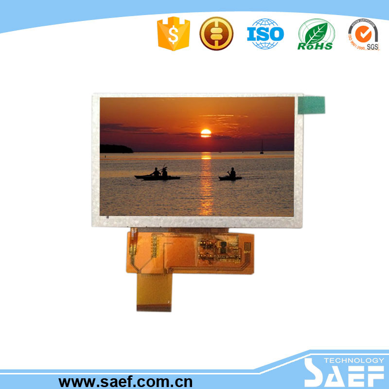 5 inch TFT LCD screen or Transmissive panel and lcd screens with RGB interface use all kind of application