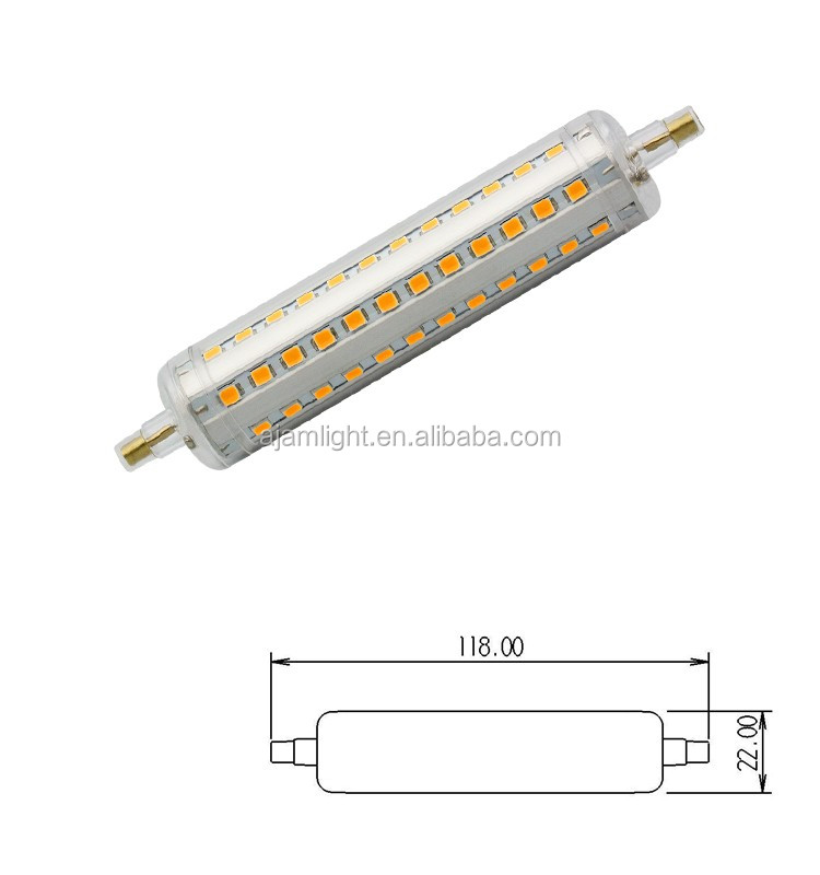 2835smd led r7s dimmerable 300w halogen led replacement