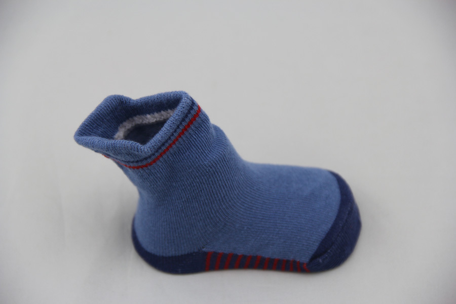 GSB-73 Wholesale custom cotton high quality baby shoe boot socks