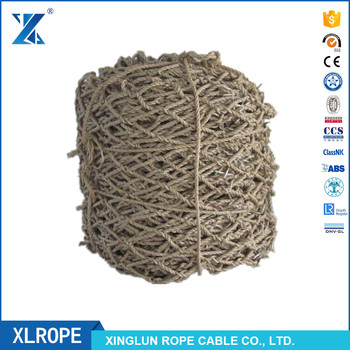 XLROPE manila rope made octagonal helicopter deck landing safety net