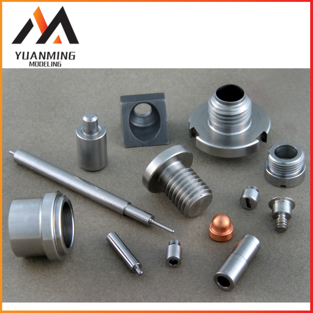 high quality cnc machining suppressor parts aluminum machined parts