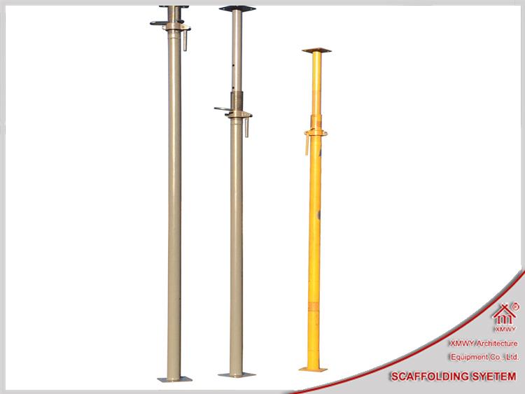 Adjustable Steel Post Shores : Heavy duty props light weight telescopic steel post