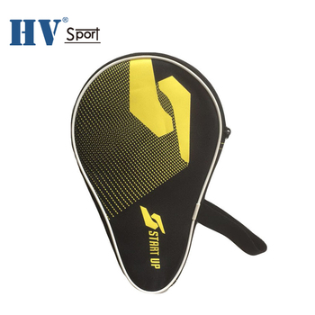 Polyester Bag for 2 pingpang  bag Rackets Side Accessory for alls Protective Zipper Enclosure table tennis racket bag